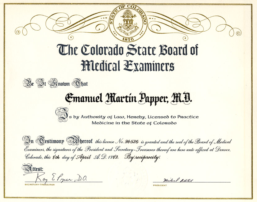 Emanuel M Papper Md Phd Biography